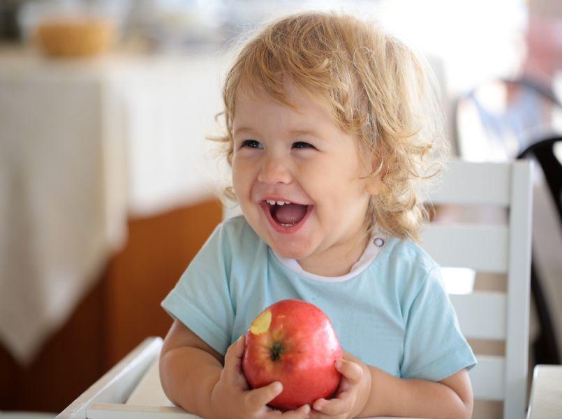 Kinderen die gezonder eten, hebben meer zelfvertrouwen