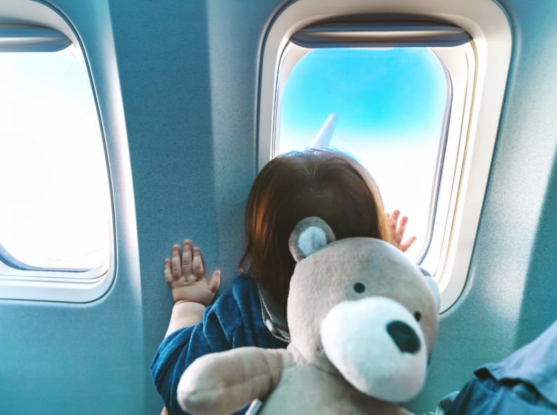 Tips for making a flight with a baby as pleasant as possible