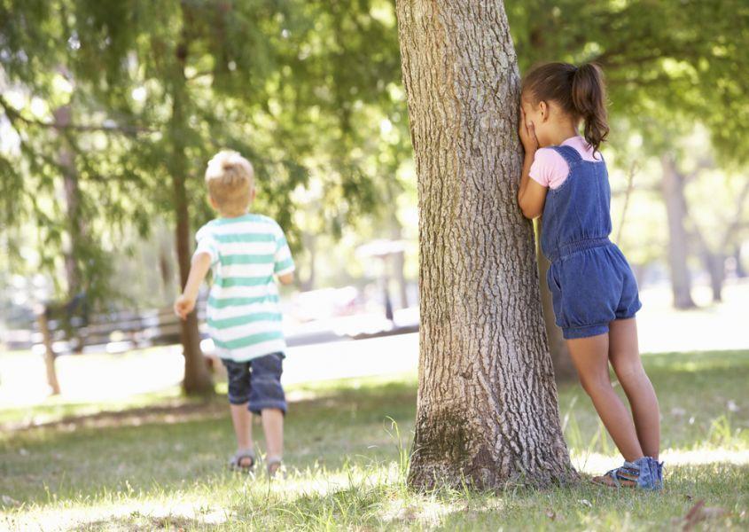 Humor! Kinderen en hun beste verstopplek