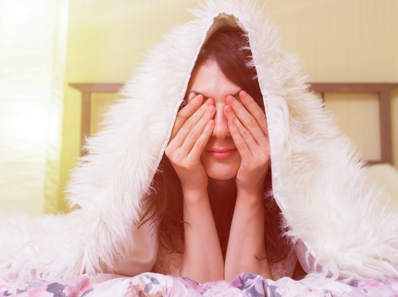 Lisa (34) heeft ernstig slaaptekort: