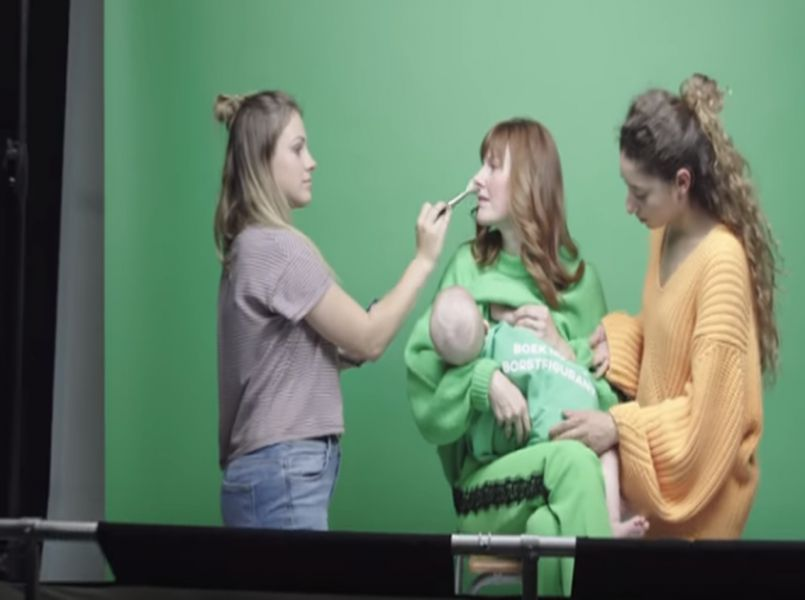 Mooie campagne: borstvoedingsfiguranten gezocht!