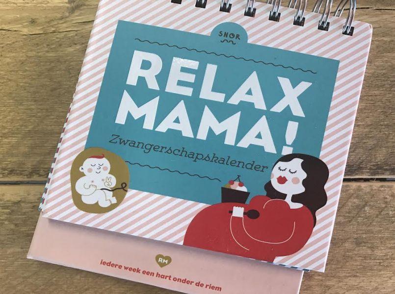 Vaak Must-have voor elke zwangere: de Relax Mama! Zwangerschapskalender @VB95