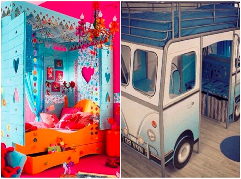 Kinderkamer Prinsessenkamer Inrichten : Kinderkamers om van te dromen