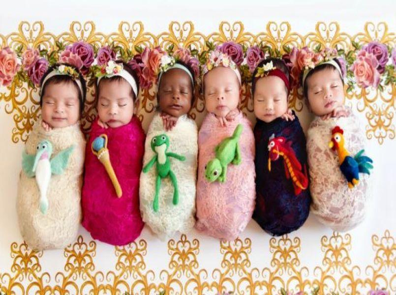 Daar zijn ze weer: nieuwe, superschattige newborn Disneyprinsesjes