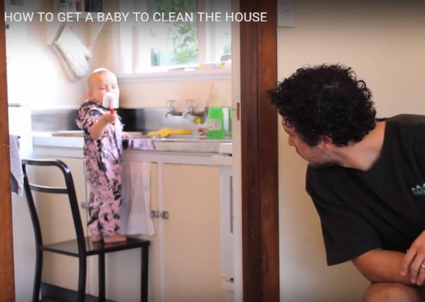 Dreumes laten helpen in het huishouden? Hier dé truc!