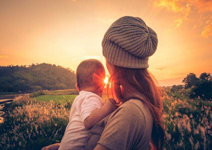 Elisa is single moeder: