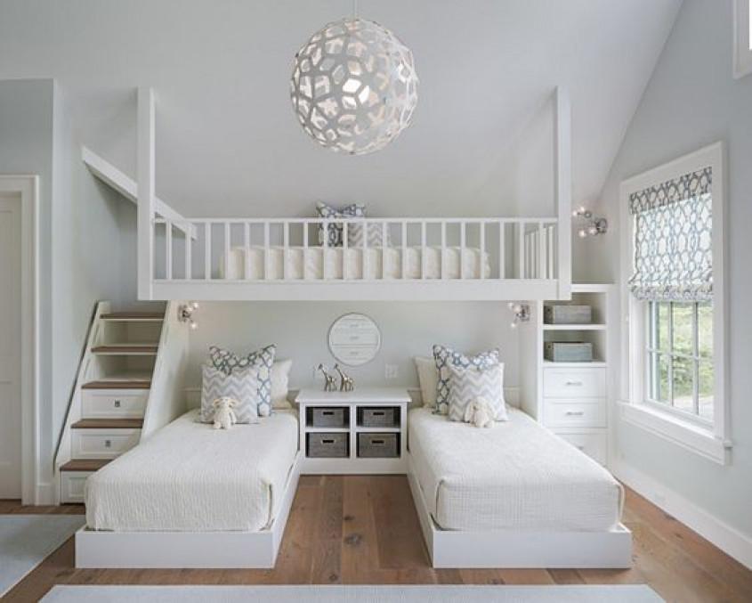 Inspiratie prachtige slaapkamers voor meedere kinderen