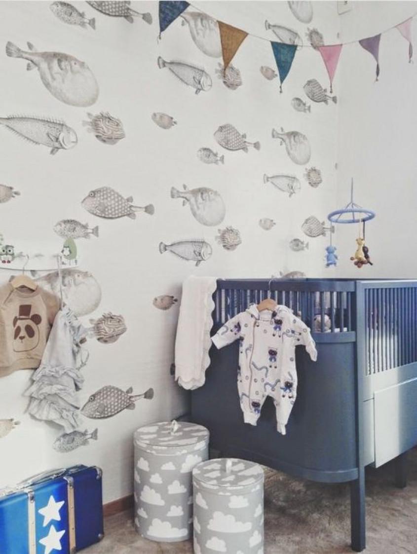 Baby Behang Jongen.Inspiratie De 10 Leukste Babykamertjes Voor Jongens