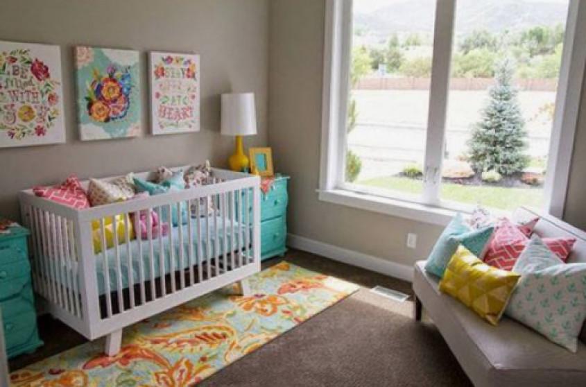 Kleuren Voor Babykamer : 10 prachtige babykamers met felle kleuren