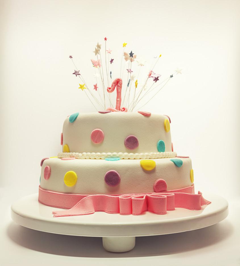 Verwonderend Inspiration: baby`s first birthday cake QB-77