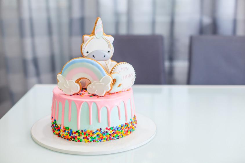 Verbazingwekkend Inspiration: baby`s first birthday cake RP-87