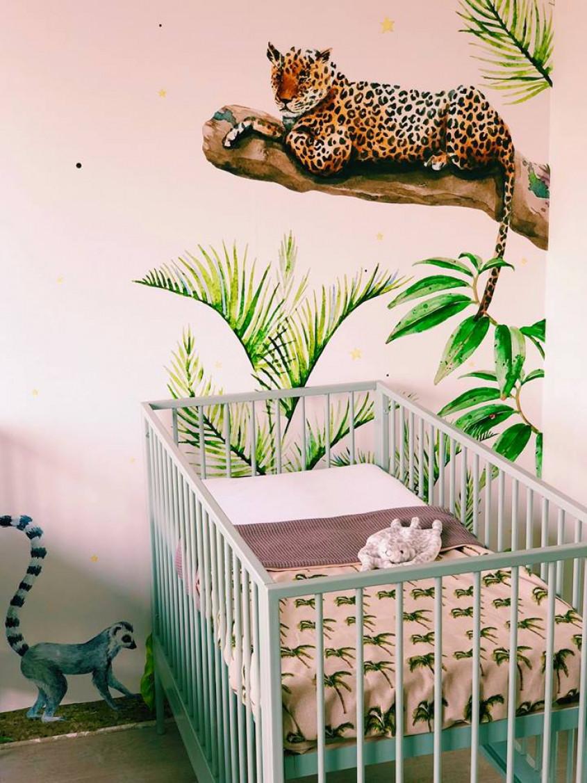 Behang Kinderkamer Jungle.Kinderkamer Jungle With Kinderkamer Jungle Musthaves Voor Een